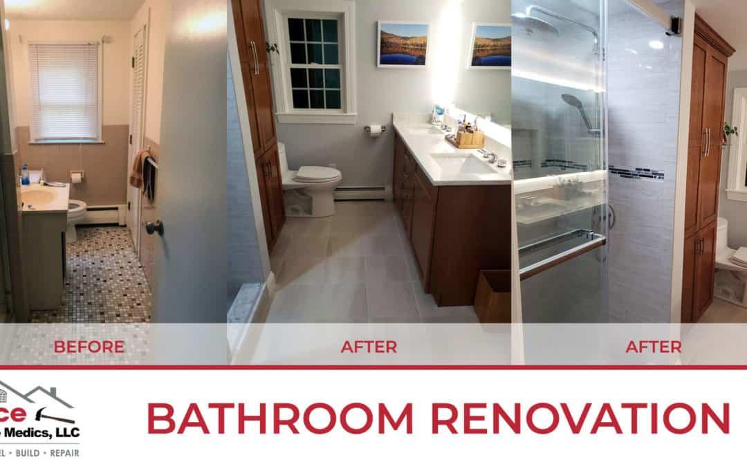 Bathroom Renovation Andover, MA March 2021