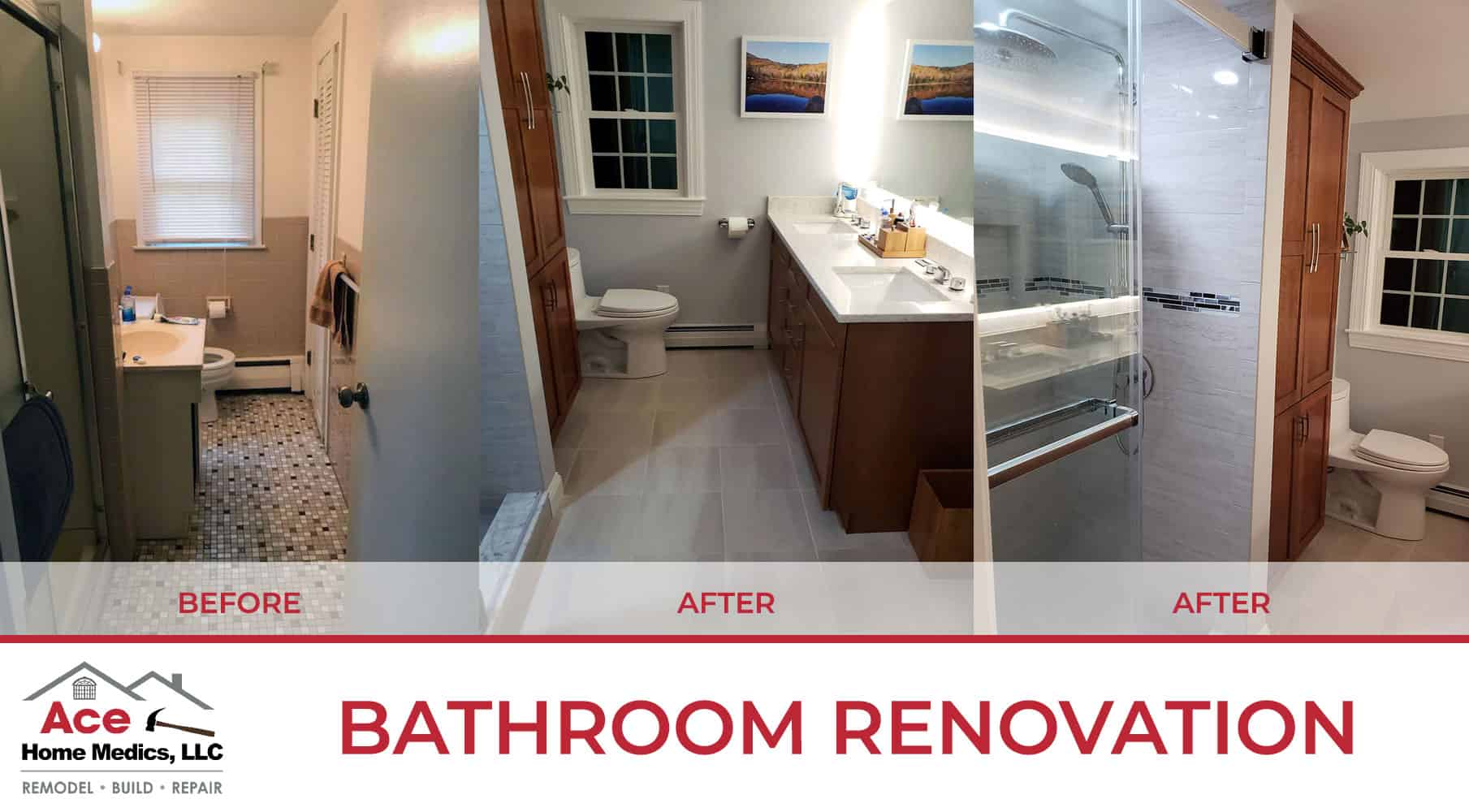 Bathroom Remodeling & Renovations by ACE
