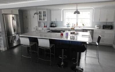 Recent Interior Renovation in North Reading MA