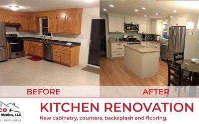 Kitchen Renovation in Wilmington, MA