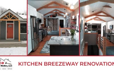 Kitchen Breezeway Renovation in Andover, MA